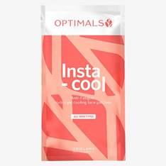 Optimals Insta-cool Anti-fatigue Hydro Gel Cooling Face Patches
